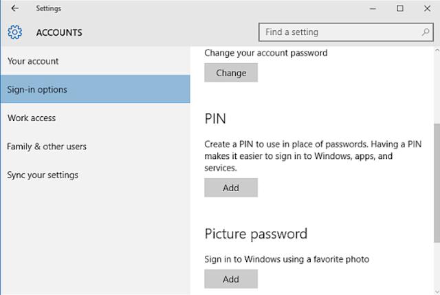 Recover Lost Password Windows 10