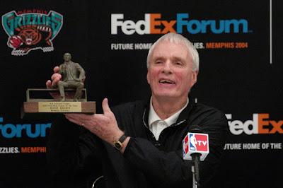 Hubie brown memphis grizzlies coach list