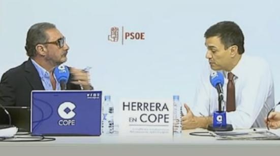 """(Vídeo) Carlos Herrera """"explota"""" y carga contra Pedro Sánchez"""