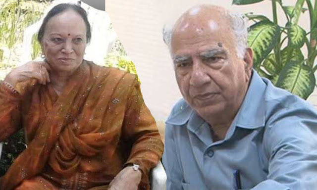 Former Himachal CM Shanta Kumar's wife dies from Corona, breathed his last in Tanda