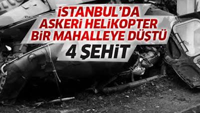 helikopter kazası