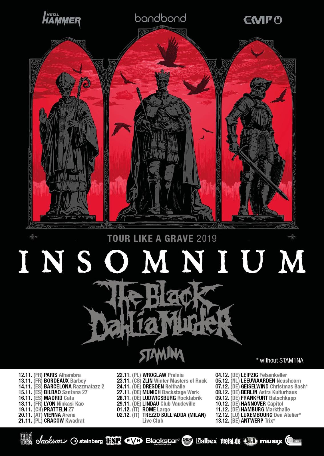 Insomnium Tour