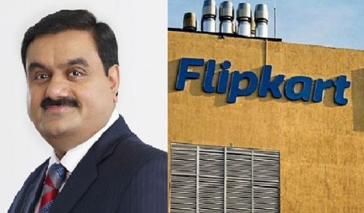 Strategic partnership between Adani and Flipkart.