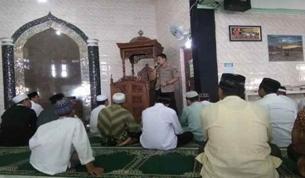 Safari Jumat Polres Sekadau Di Masjid Al Muhajirin Desa Sungai Ringin