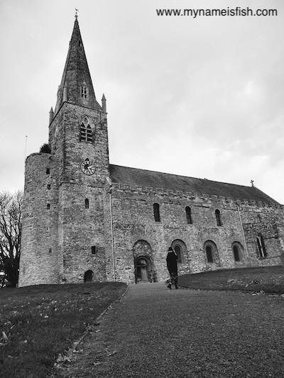 Anglo-Saxon Romanesque Style Church