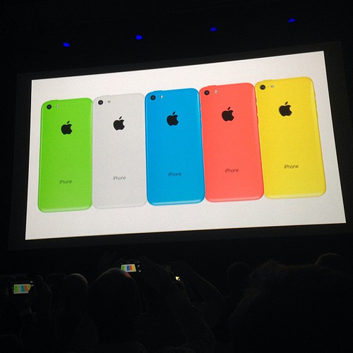 What's the difference between iPhone 5S and iPhone 5C