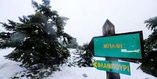 Χιόνισε και το «έστρωσε» στην Πάρνηθα και το ολόλευκο τοπίο είναι μαγευτικό