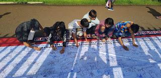 FPMSI Sukses Ajak Masyarakat Gelar Kampanye Literasi Warganet di CFD Cirecbon
