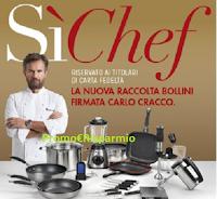 Logo ''SiChef'' e ''Vinci 100 Cene'': premi certi con la raccolta punti e vinci cene nel ristorante di Cracco