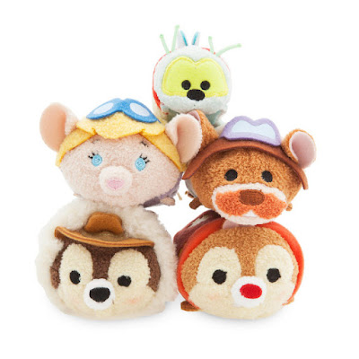 D23 Expo 2017 Exclusive Chip 'n Dale Rescue Rangers Tsum Tsum Bag Set by Disney