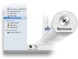 entfernen taste bei mac