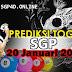 Prediksi Togel SGP 20 Januari 2021