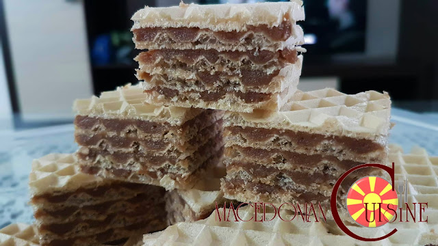 homemade wafers