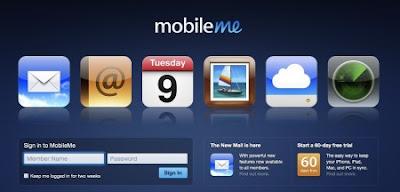 MobileMe servicio nube Apple