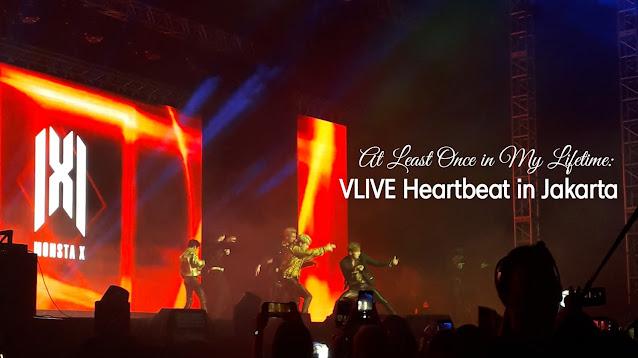Monsta X in VLive Heartbeat Jakarta