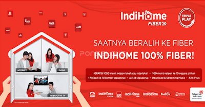 Review Internet IndiHome Fiber dari Telkom Indonesia