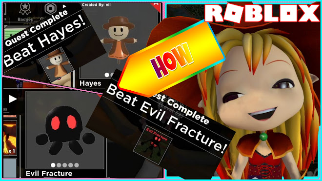 ROBLOX TOWER HEROES! HAYES SHOWCASE and HOW TO GET EVIL FRACTURE SKIN