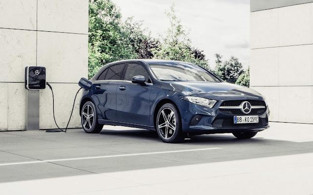 Mercedes Classe A plug-in chega para enfrentar o Golf GTE