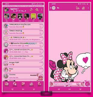 Minnie & Love Theme For YOWhatsApp & Fouad WhatsApp By Agatha