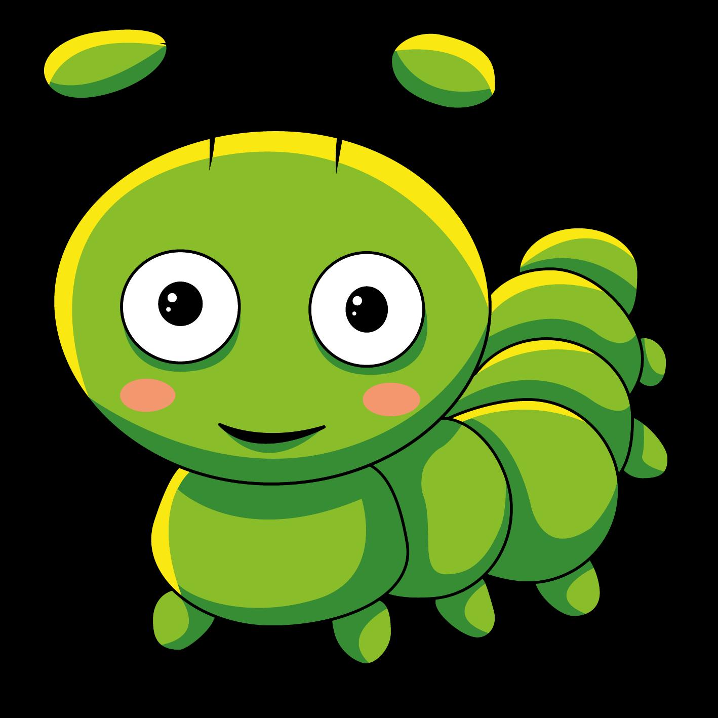 спа-центре мультяшные картинки головы гусеницы того
