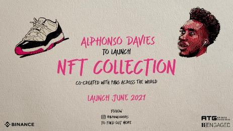 Binance anuncia coleção exclusiva de NFTs de Alphonso Davies
