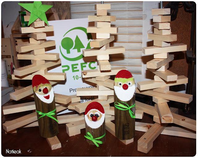 sapin de bois issu de  sources responsables PEFC