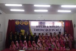 Haflah dan Wisuda Tahfidz Quran SDIT Madani Ekselensia