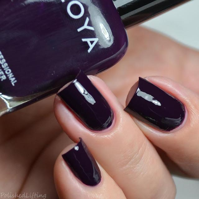 eggplant creme nail polish