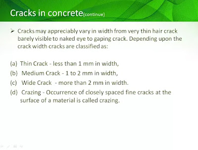 types of cracks in building