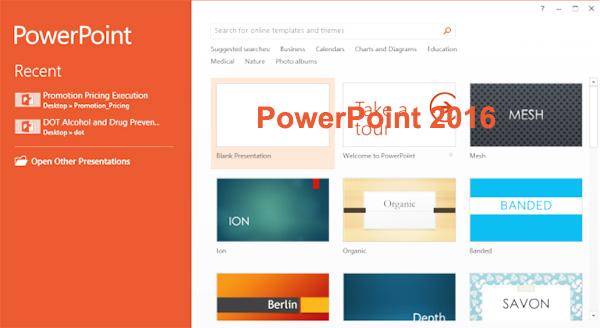 Tải PowerPowerPoint 2016   Tạo slide thuyết trình trên máy tính c