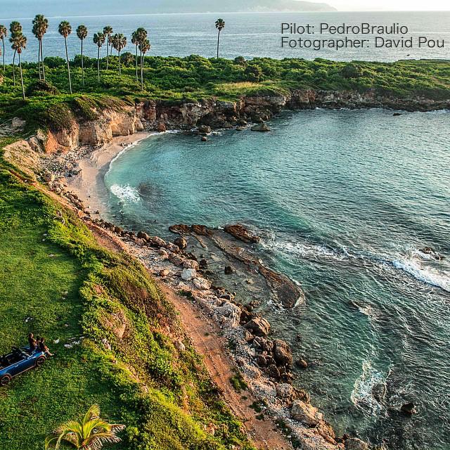 Playa Azul, Barahona, República Dominicana.