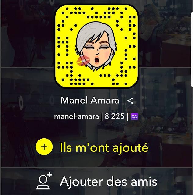 منال عمارة سناب شات (Snapchat : manel-amara)