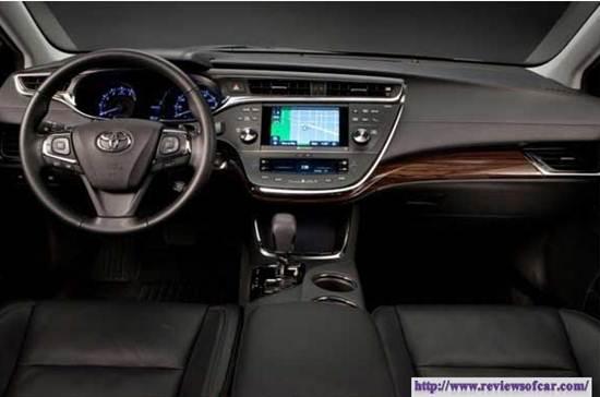 Toyota Avensis Review Australia- Interior