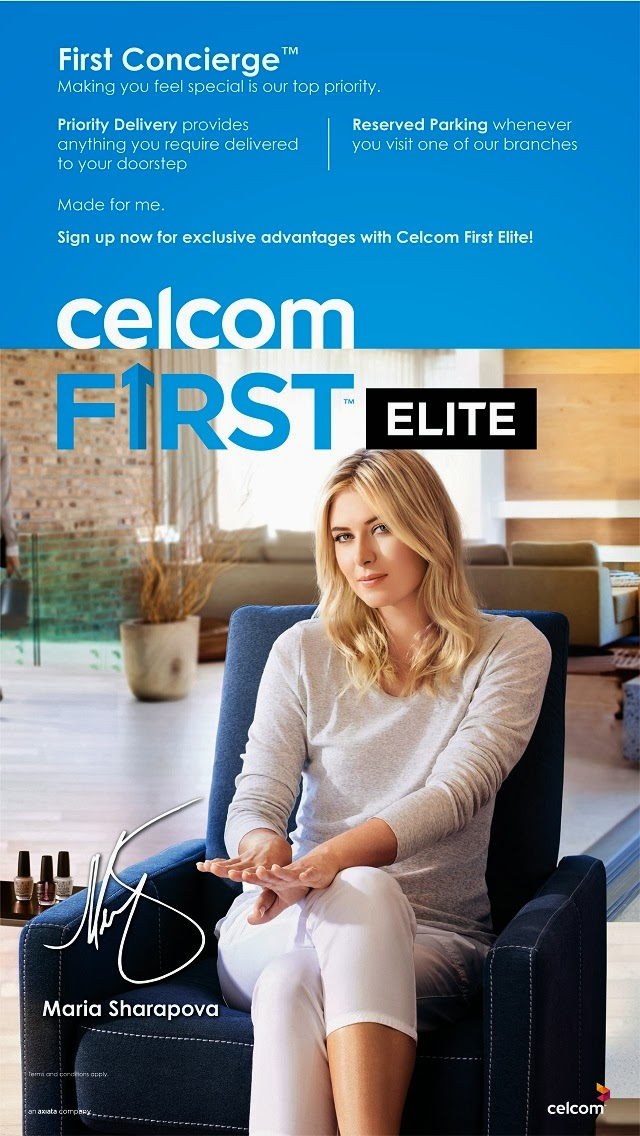 Celcom First Elite: First Concierge
