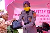 Jelang HUT YKB, Bhayangkari Daerah NTB Berbagi di Masa Pandemi Covid 19
