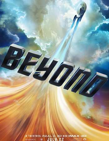 Poster Of Star Trek Beyond 2016 English 700MB Cam x264 Free Download Watch Online Worldfree4u