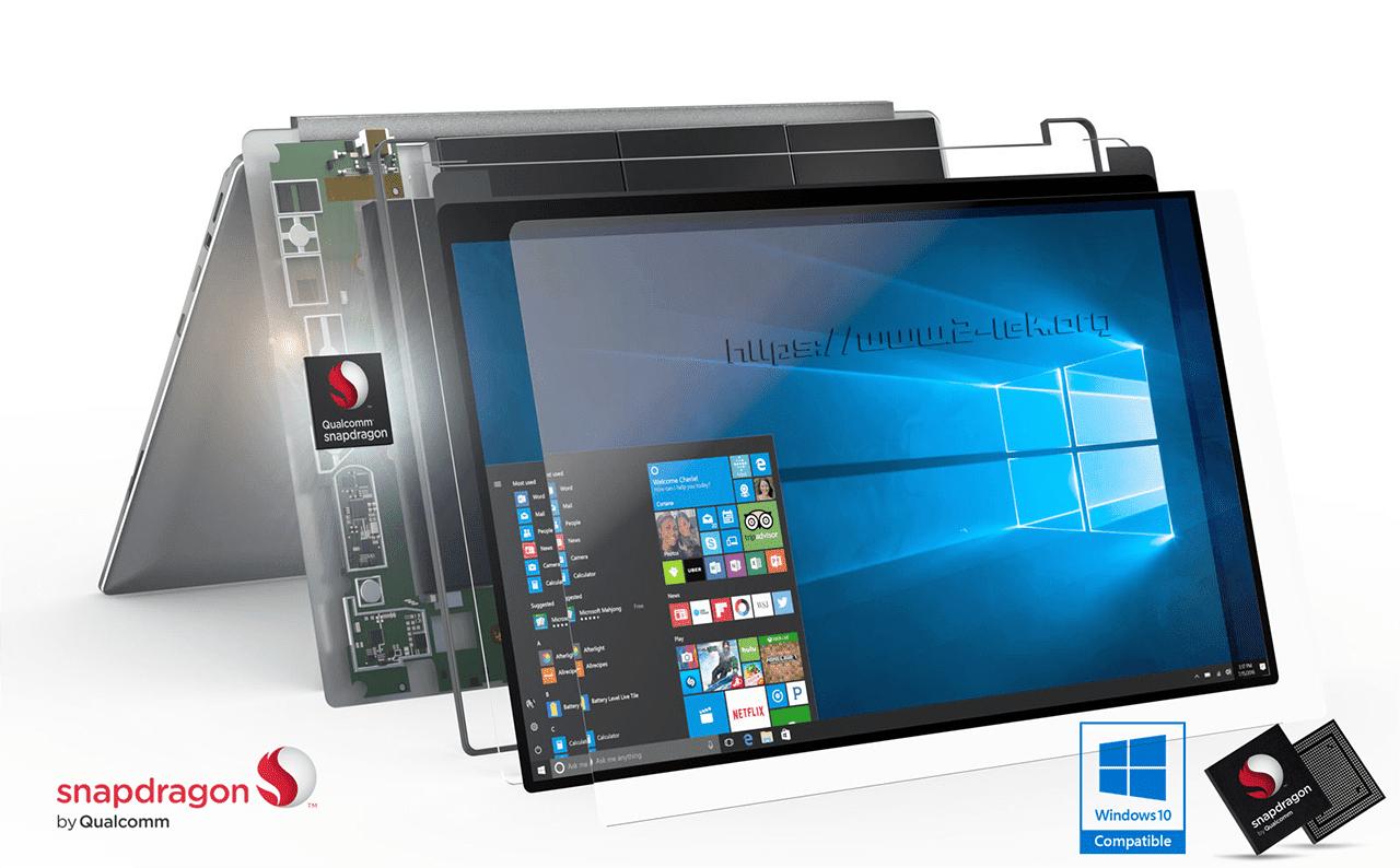 SDM100: Chíp mới của Qualcomm dành riêng cho các laptop chạy Windows 10