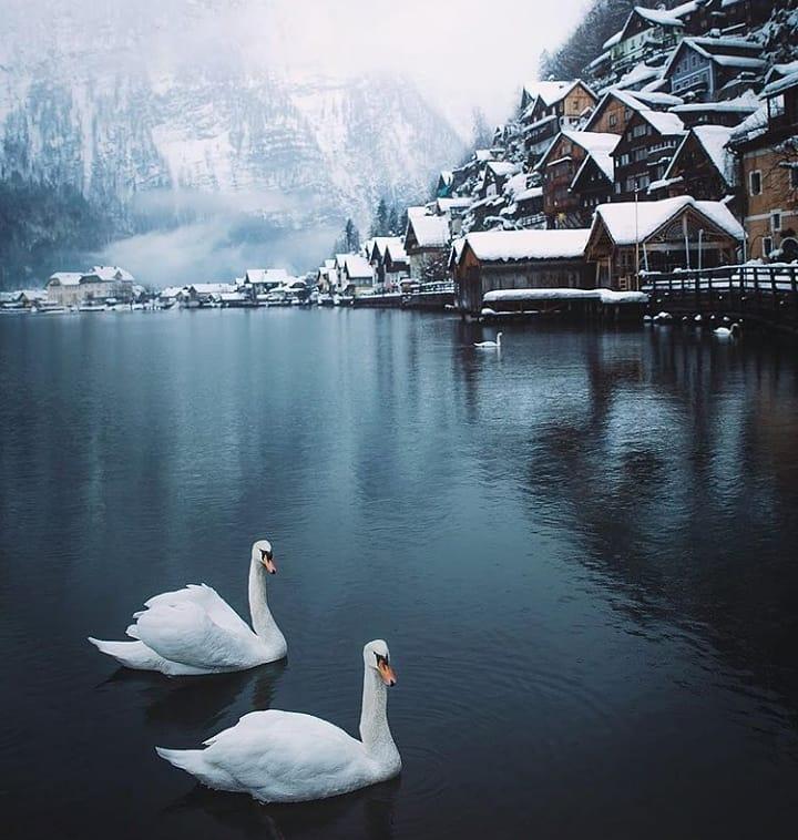 Hallstatt, Austria @bluetravelexpress