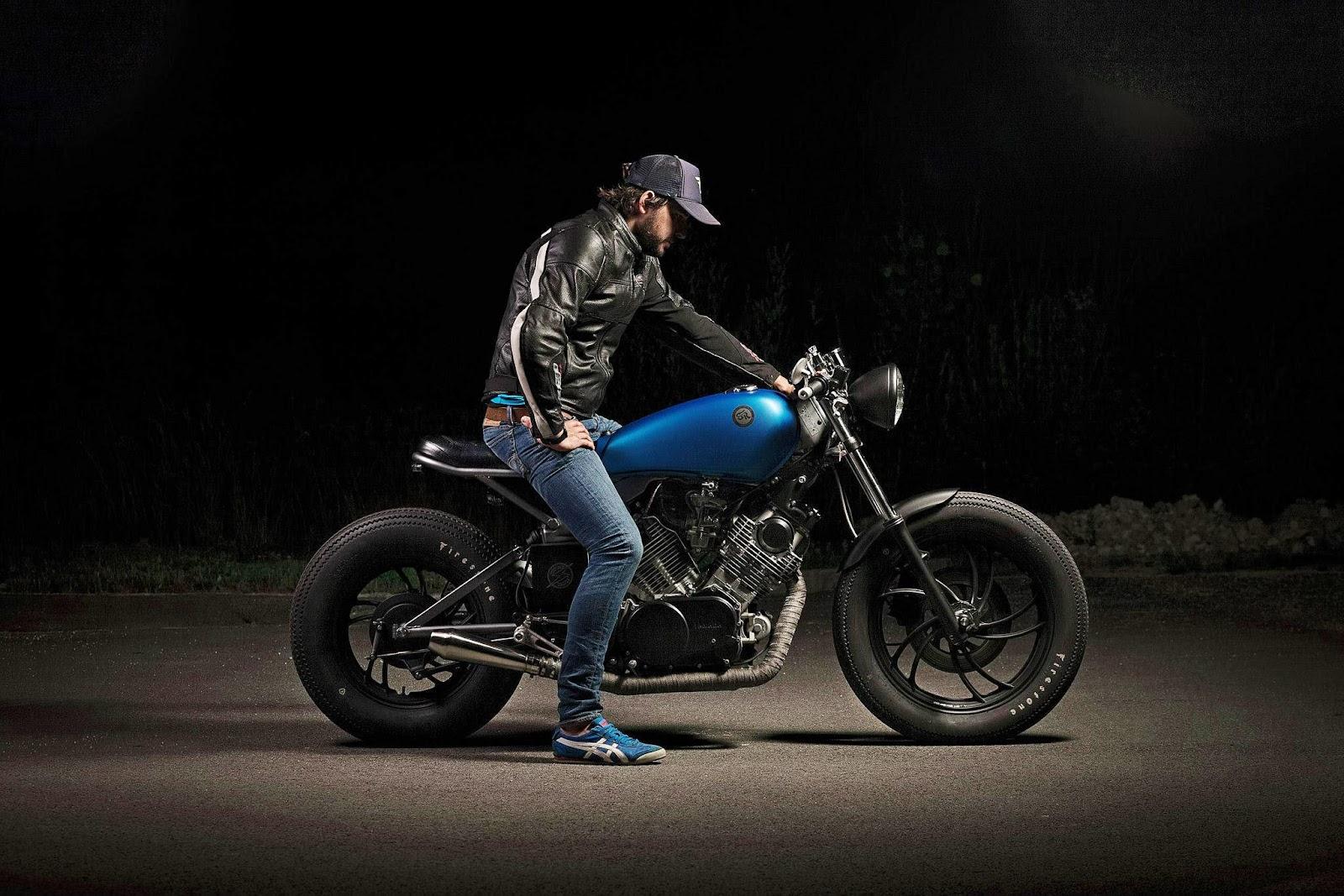 Racing Caf U00e8  Yamaha Xv 750  U0026quot Cosmic U0026quot  By Er Motorcycles