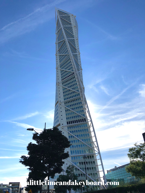 Turning Torso cuts quite a figure in Malmo, Sweden