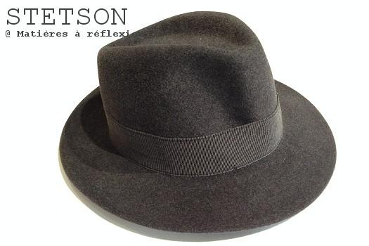 Stetson chapeau pour femme gris Craig