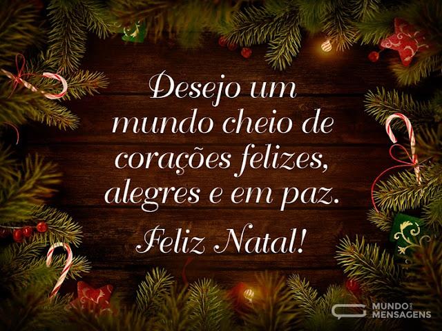 desejo de um Feliz Natal