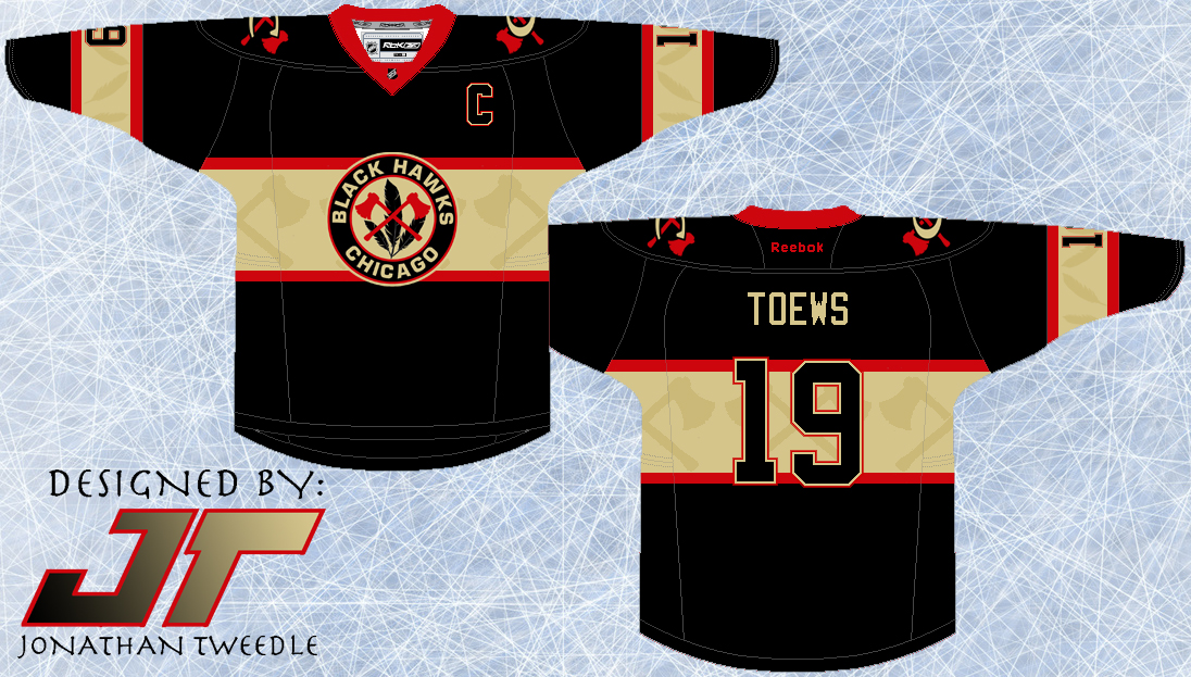 newest 58468 60668 Tweedle's Jersey Blog: Rebrand Series: Chicago Blackhawks