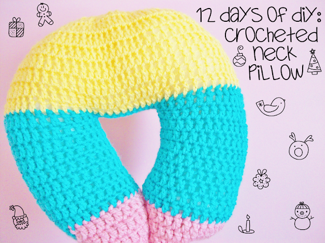 Crocheted Neck Pillow
