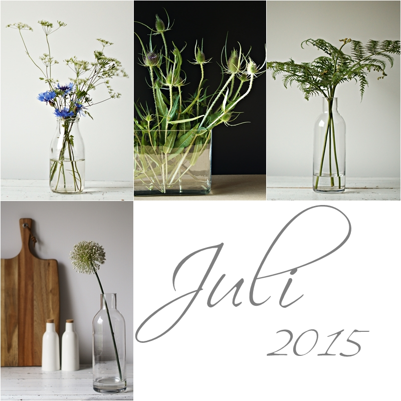 Blog + Fotografie by it's me! - Collage Friday Flowerday - Juli 2015
