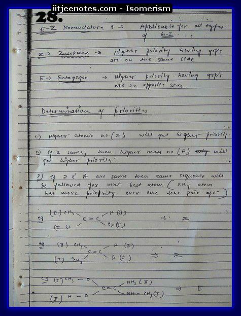 Isomerism Notes11
