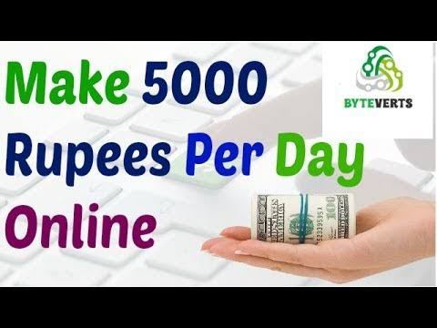 Earn Online Money Free Zero Investment - Upto 5000 rupees