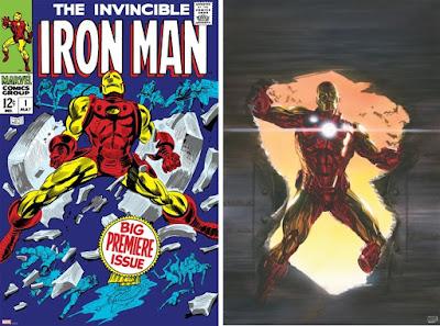 Iron Man Fine Art Marvel Giclee Prints by Gene Colan, Alex Ross & Grey Matter Art