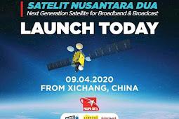 Palapa N1 (Nusantara 2) satellite failed sliding into orbit