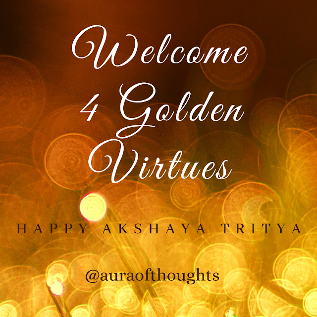 akshaya tritya message on GOLD - aura of thoughts